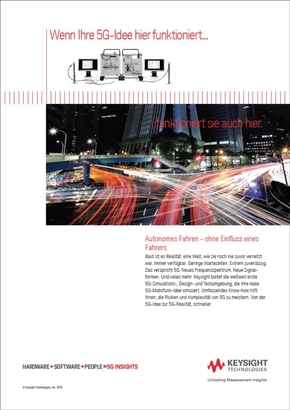 Keysight Technologies: 5G Campaign - Hydrogen Advertising